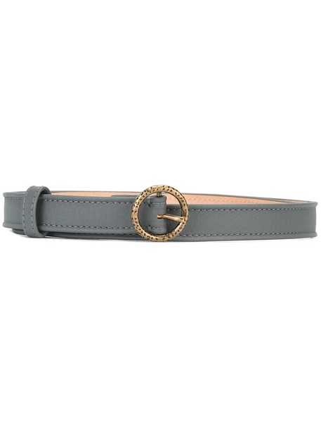 Agnona belt grey