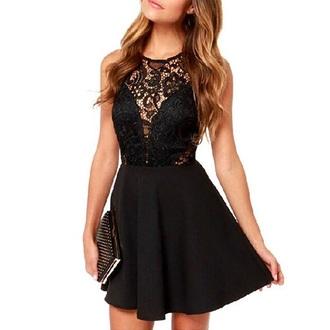 dress black dress lbd dress fashion style trendy girly sexy feminine musheng