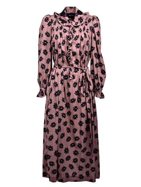 Simone Rocha dress print dress print purple pink