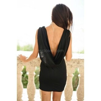 dress black dress open back dresses sleeveless dress draped dress open back sleeveless draped black backless backless dress