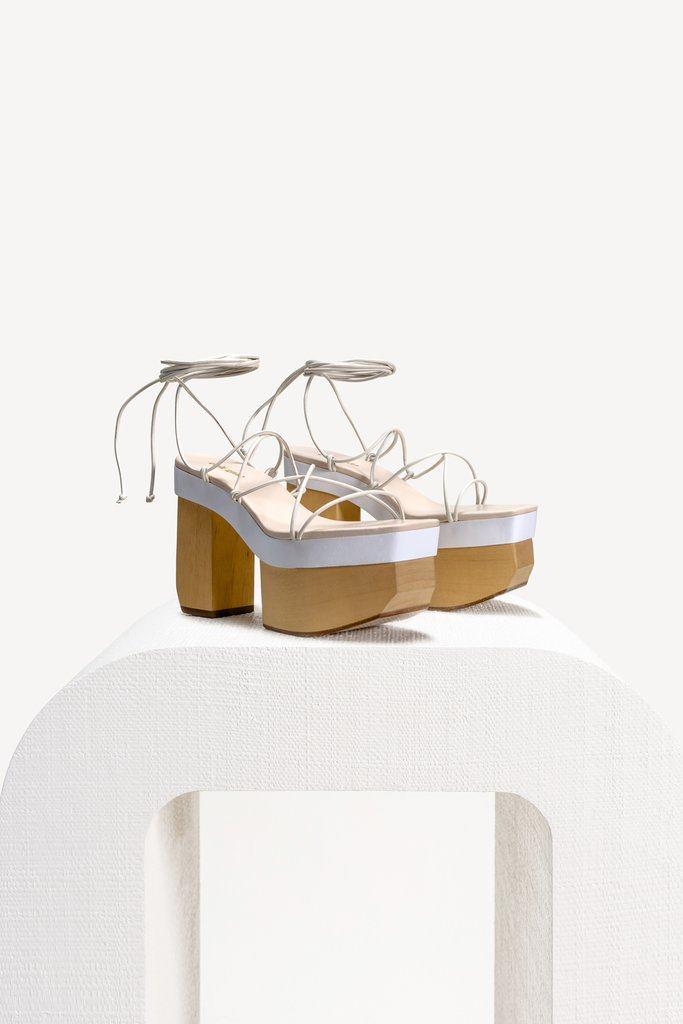 Kiki Platform - White