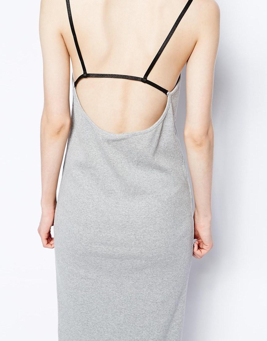 Cheap Monday Maxi Dress With Back Detail at asos.com