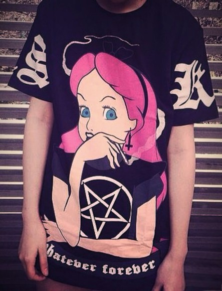 t-shirt princess grunge
