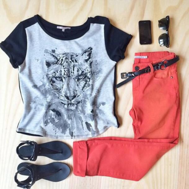 shirt jeans shoes