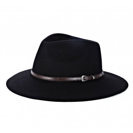 Sole Society - Outback Wide Brim Hat - Black