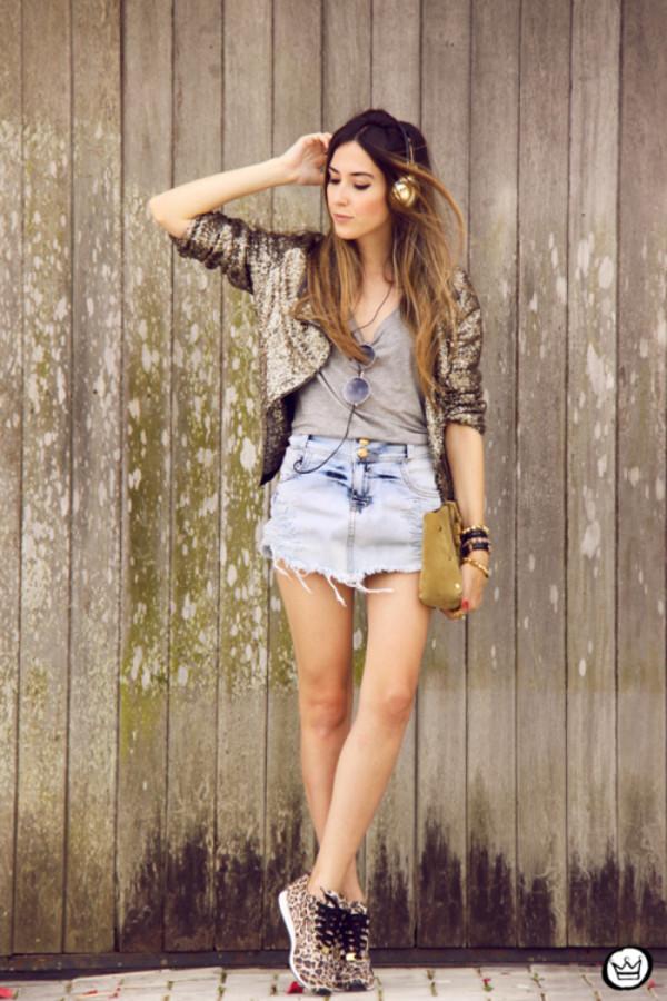 fashion coolture blogger jacket bag sunglasses