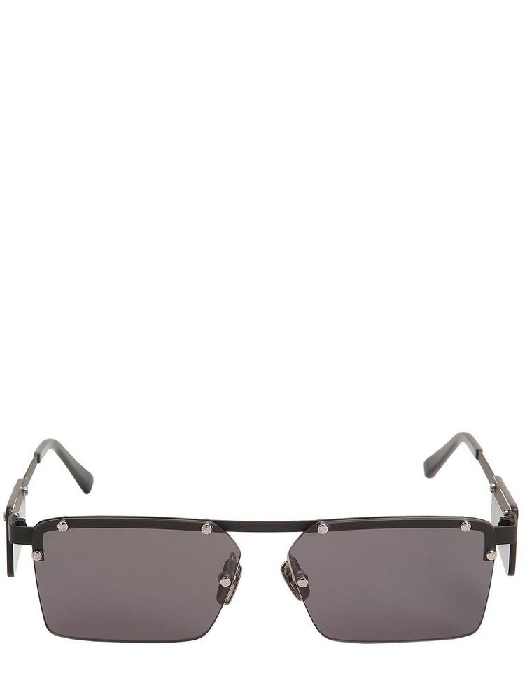 ITALIA INDEPENDENT Gilles Aluminum Sunglasses in black