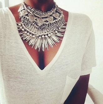 jewels bohemian necklace gypsy silver jewelry silver necklace style gypsy necklace