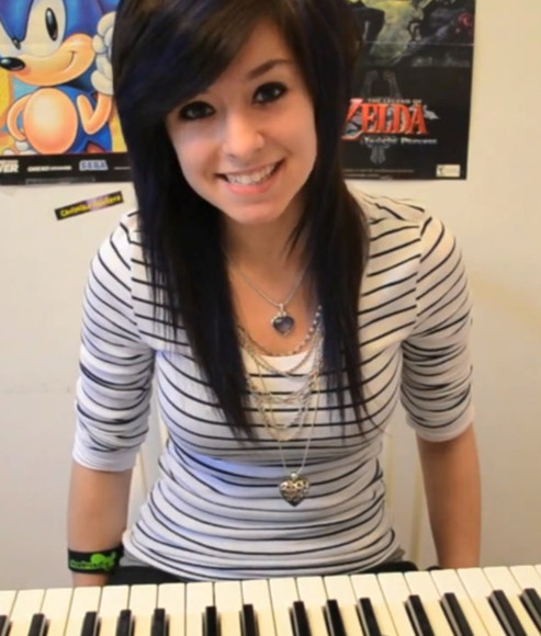 girly blouse t-shirt rock christina grimmie