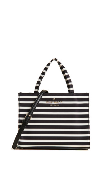 black cream bag
