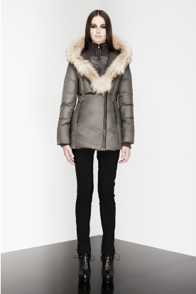 Women's leather jackets, wool coats & down coats