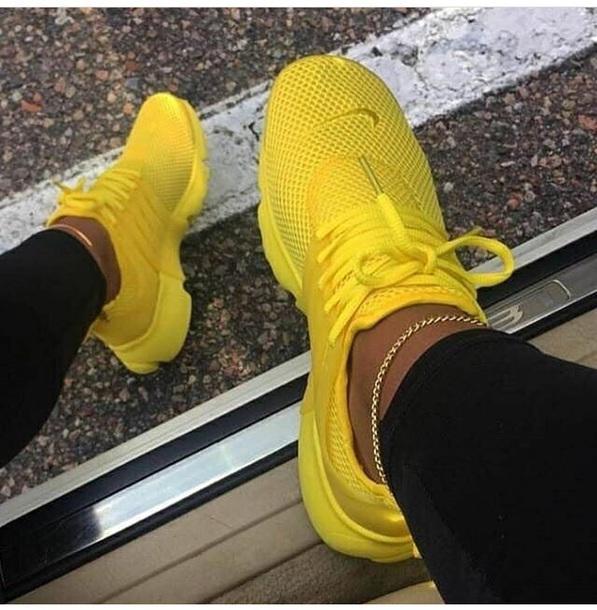 shoes yellow sneakers nike nike shoes yellow