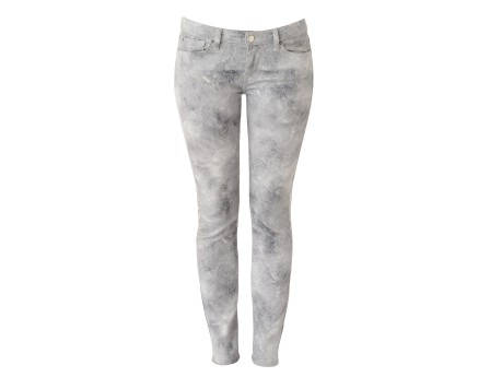 Upney Jeans - Printed skinny jeans - Gray - Jeans - Women - IRO