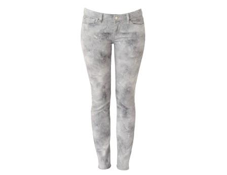 Printed skinny jeans