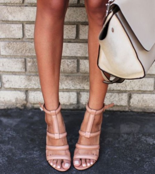 shoes sandals summer fashion nude flats coachella beach holidays tan