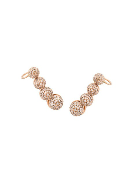 Alinka cuff rose gold rose women ear cuff gold grey metallic jewels