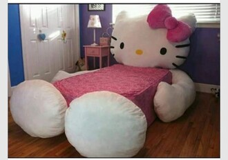 home accessory hello kitty pink bedding