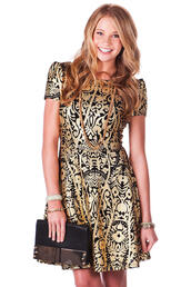 dress,glamour,gold,lame,classy,clothes