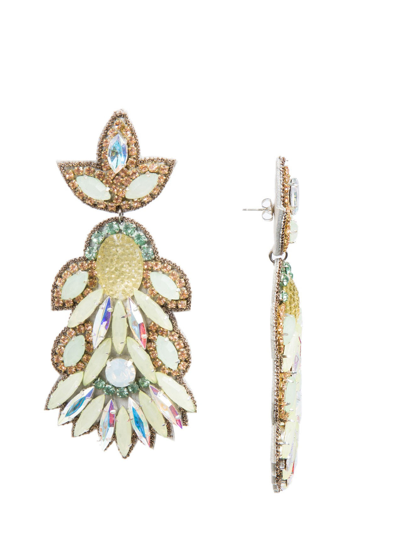 Borghese Large Drop Earrings :: Women | Scoop NYC