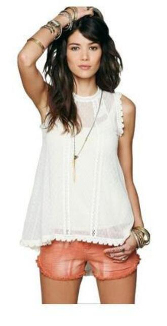 shirt free people shorts free people top free people swing top