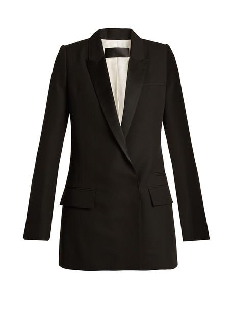Haider Ackermann jacket wool jacket wool black