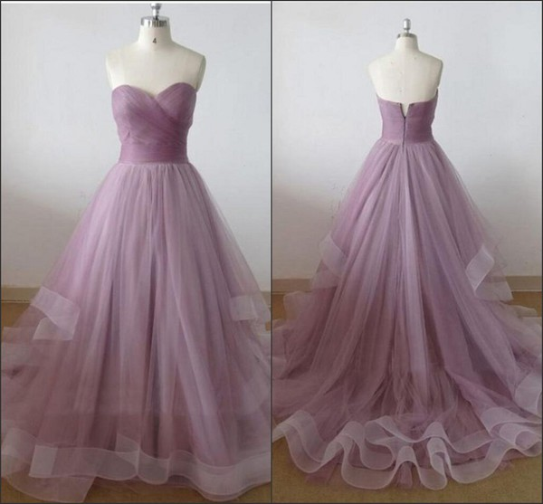 dress molly_bridal 2016 prom dresses tulle prom dress tiered skirt evening dresses