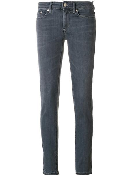 jeans women spandex fit cotton grey