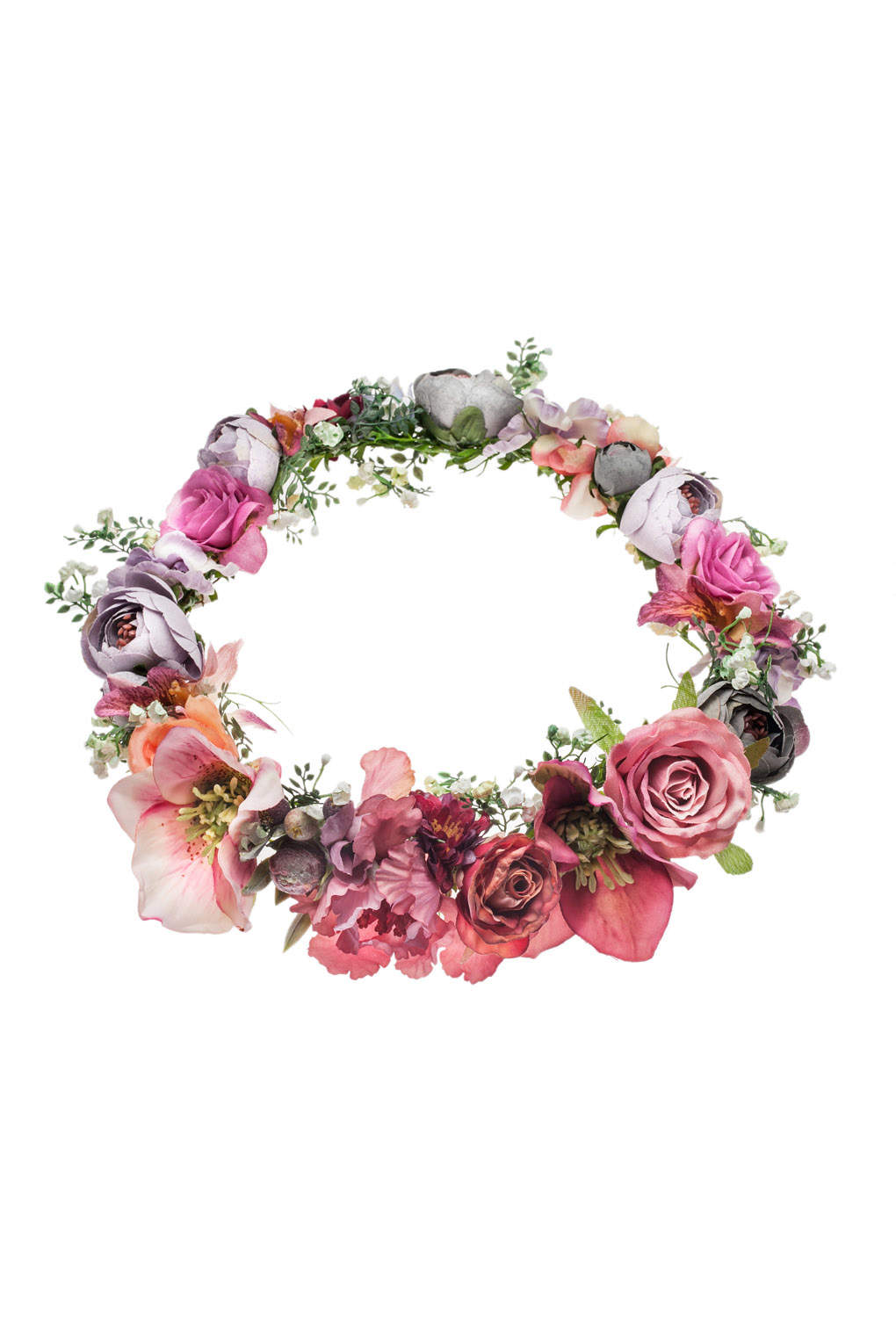 Jewels Clothes Style Flower Crown Crowns Flowers Pink Flowers