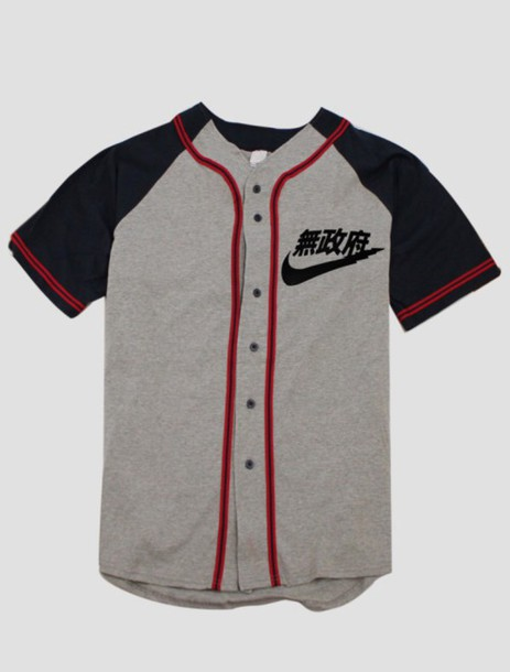 shirt baseball jersey nike air