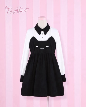 dress kawaii dress cute dress cat dress casual dress cats love dressy lovely japan japanese fashion