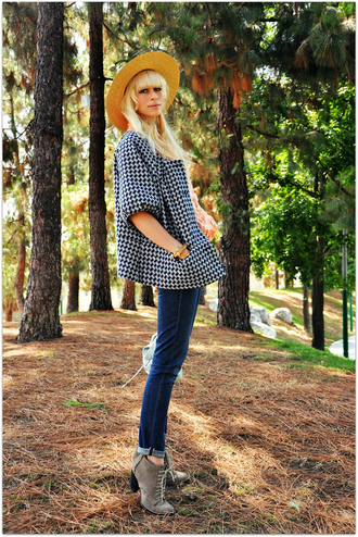 jacket houndstooth fancy tree house