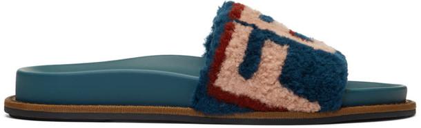 Fendi blue shoes