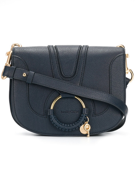 See by Chloe women bag leather blue
