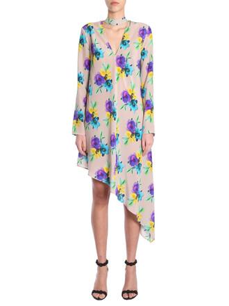 dress mini dress mini print multicolor