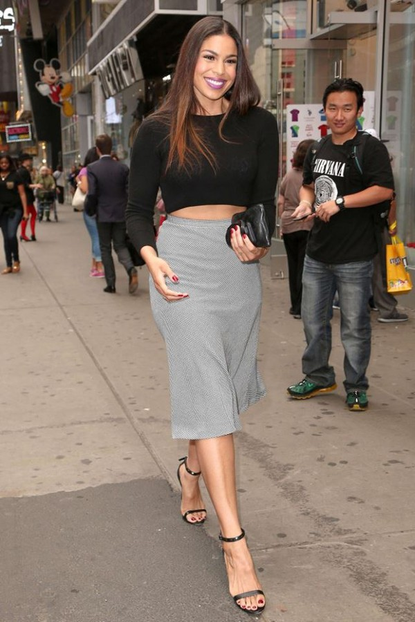 skirt top crop tops jordin sparks