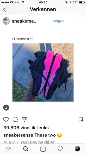 shoes huarache nike nike shoes pink pink shoes nike pink