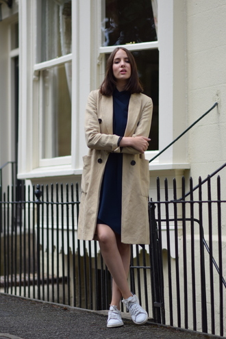 shot from the street blogger dress shoes coat