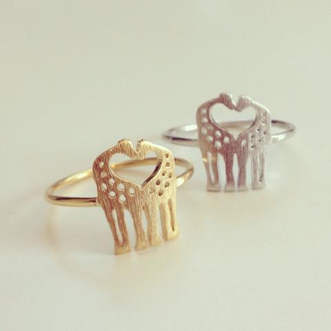 louun — Love Giraffes Ring