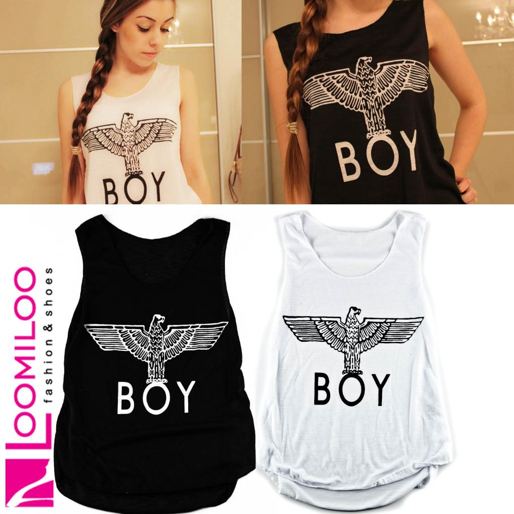 BOY Tanktop Damen Obey Eleven London Paris Fashion Highlite 2014 NEU | eBay