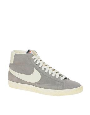 meilleur service 89825 63a24 Nike | Nike - Blazer - Baskets vintage mi-hautes en daim chez ASOS