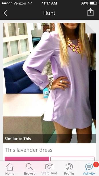 dress lavender