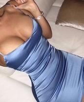 dress,want need,satin,silk,blue,bodycon dress,bodycon,instagram,tumblr,dope,blue dress,tight,homecoming,black dress,satin dress