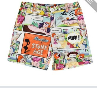 shorts cartoon shorts