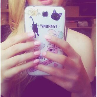 phone cover yeah bunny stickers sticker case cute cats queen cutegirly girly tumblr