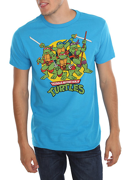 Teenage Mutant Ninja Turtles Circle Logo T-Shirt | Hot Topic