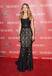 dress,black dress,gown,lace dress,maxi dress,prom dress,amber heard