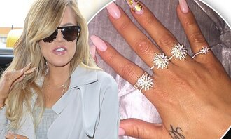 jewels khloe kardashian diamonds stars classy chic glamour sparkle jewelry ring stars ring starburst bling keeping up with the kardashians khloe kardashian jewelry kardashians