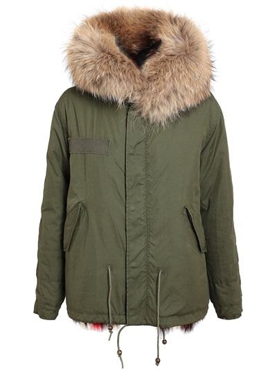 Mr & Mrs Furs Multicoloured Fur Lined Parka Jacket -  - Farfetch.com