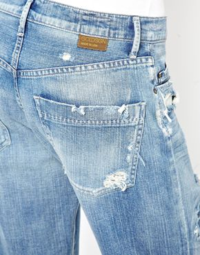 Goldsign | Goldsign Mr Right Distressed Boyfriend Jeans at ASOS