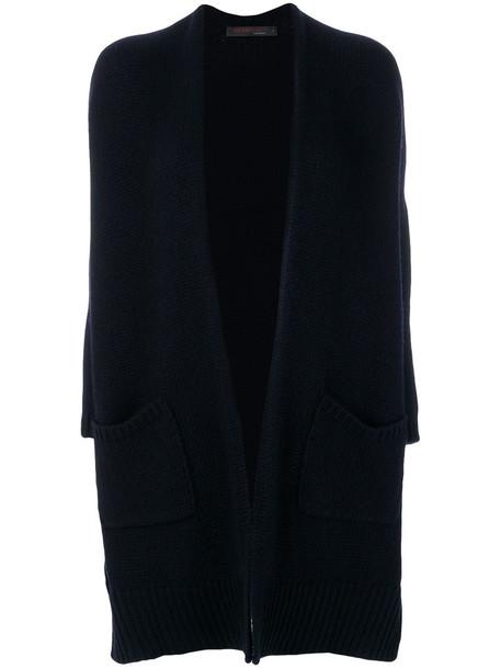 Incentive Cashmere cardigan cardigan women blue sweater